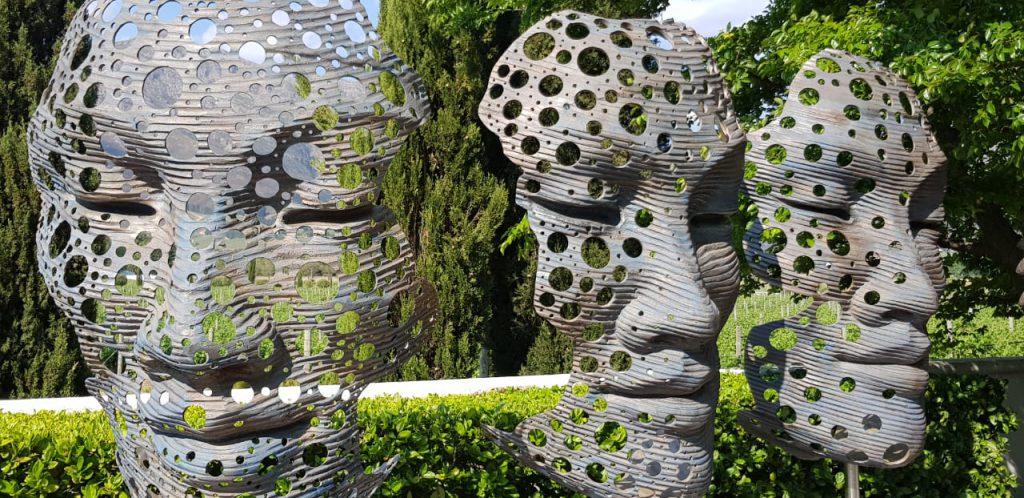 Skulpturen im Grande Provence