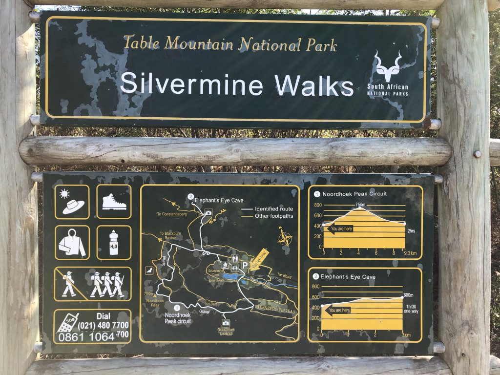 Wanderwege im Silvermine Park
