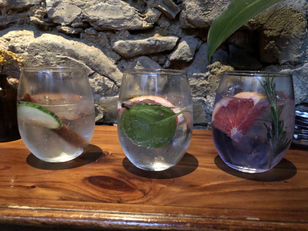 Gin in allen erdenklichen Varianten
