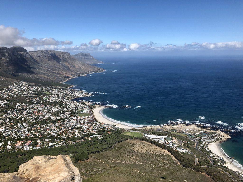 Von Camps Bay in Richtung Kap