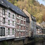 Fachwerkhäuser in Monschau