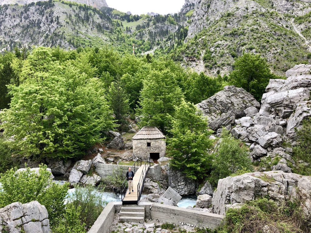 Alte Mühle im Valbona-Tal