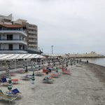 Strand beim Hotel Aragosta
