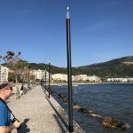 Strandpromenade in Vlorës