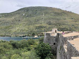 Auf der Festung von Ali Pascha