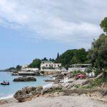 Dhërmi an der Albanischen Riviera