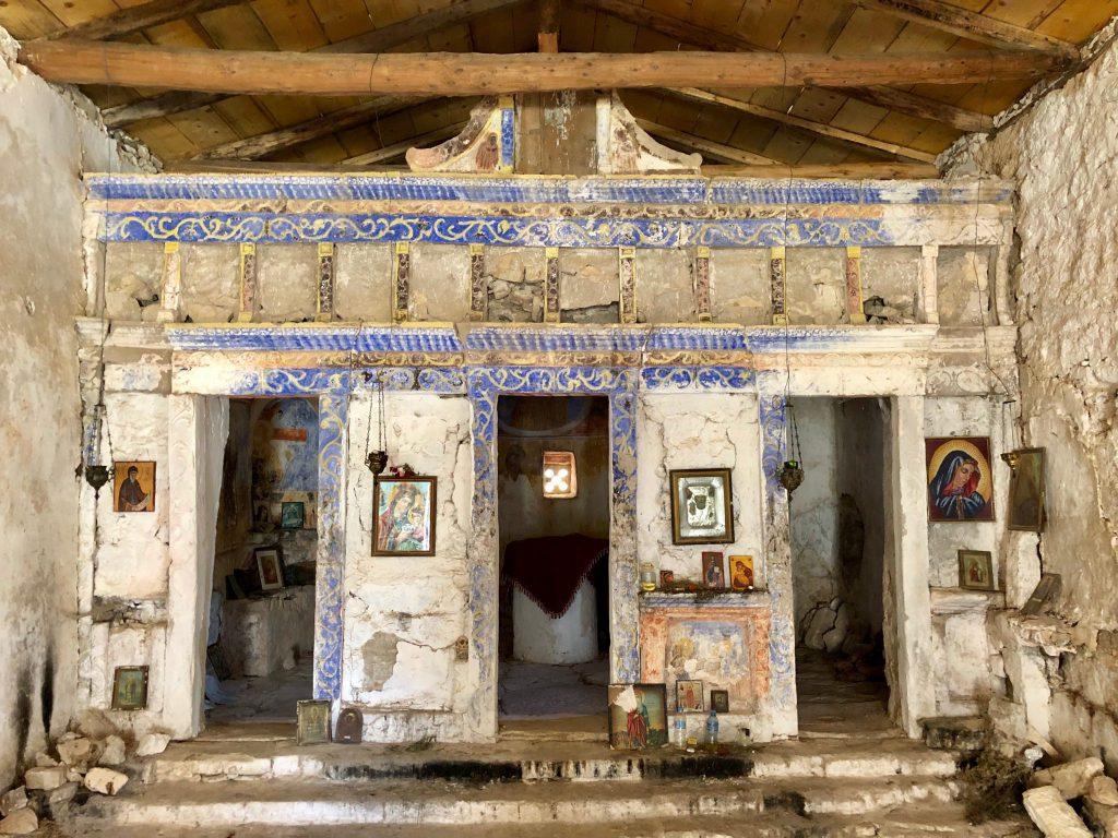 Alte Kirche in Himara Fshat