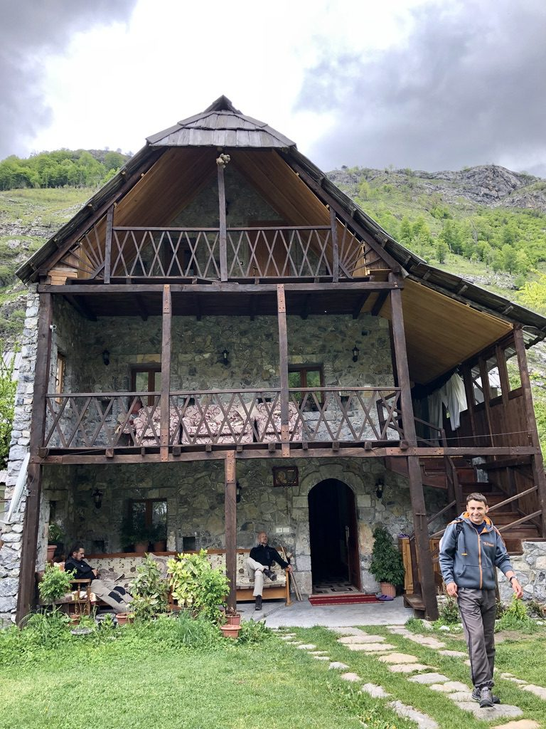 Unser Guesthouse im Valbona-Tal