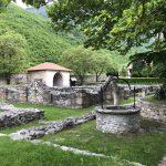 Gartenanlage im Kloster Peć