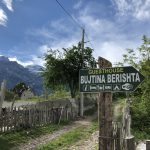 Der Weg zu unserer Unterkunft: Bujtina Berishta