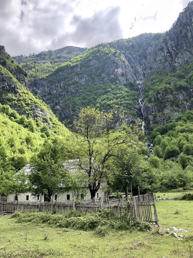 Tolle Landschaft im Tal von Theth
