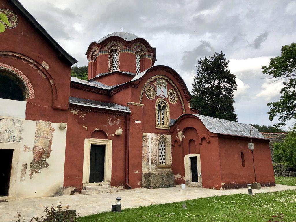 Kirche im Kloster Peć