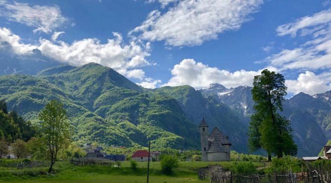Faszinierende Landschaften in den Albanischen Alpen