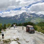 Unasphaltierte Straße von Theth über den 1.630m hohen Terthorja-Pass