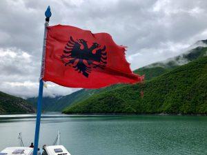 Albanische Flagge