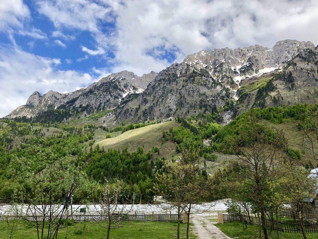 Im wunderschönen Valbona-Tal