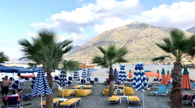 "Kreta Tag 1: Abflug nach Heraklion und Beach-Stop ""auf Bali"""