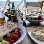 Griechischer Salat in Reinstform...
