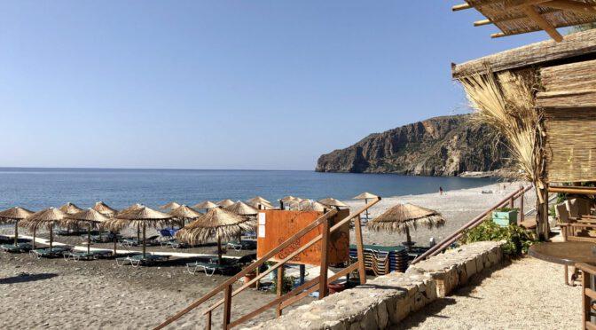 Kreta Tag 3:Weiterfahrt in Kreta's Westen – über Georgioupoli nach Sougia