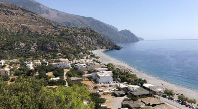 Kreta Tag 4 bis 7: Ausflüge und Beachen in und um Sougia