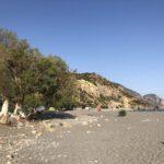 Entspanntes Treiben am Strand von Sougia