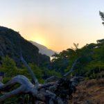 Sonnenaufgang in der Lissos-Schlucht