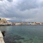 Blick auf die Altstadt von Chania
