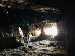 In der Höhle von Arkoudospilio