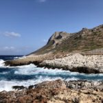 Die Avlaki Schlucht endet im Meer