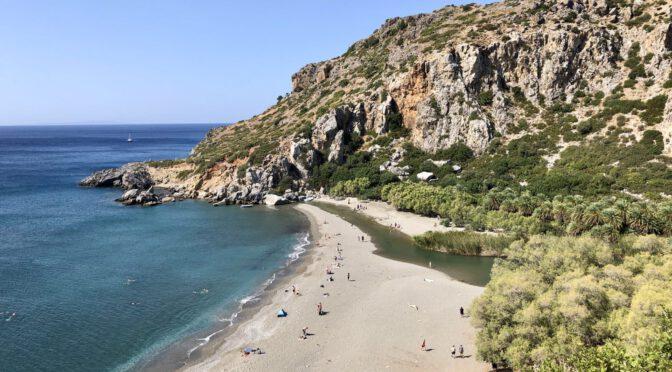 Kreta Tag 10 und 11: Durch die westlichen Berge zum Preveli Palmenstrand