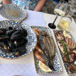 Fischplatte für 2 im Scala