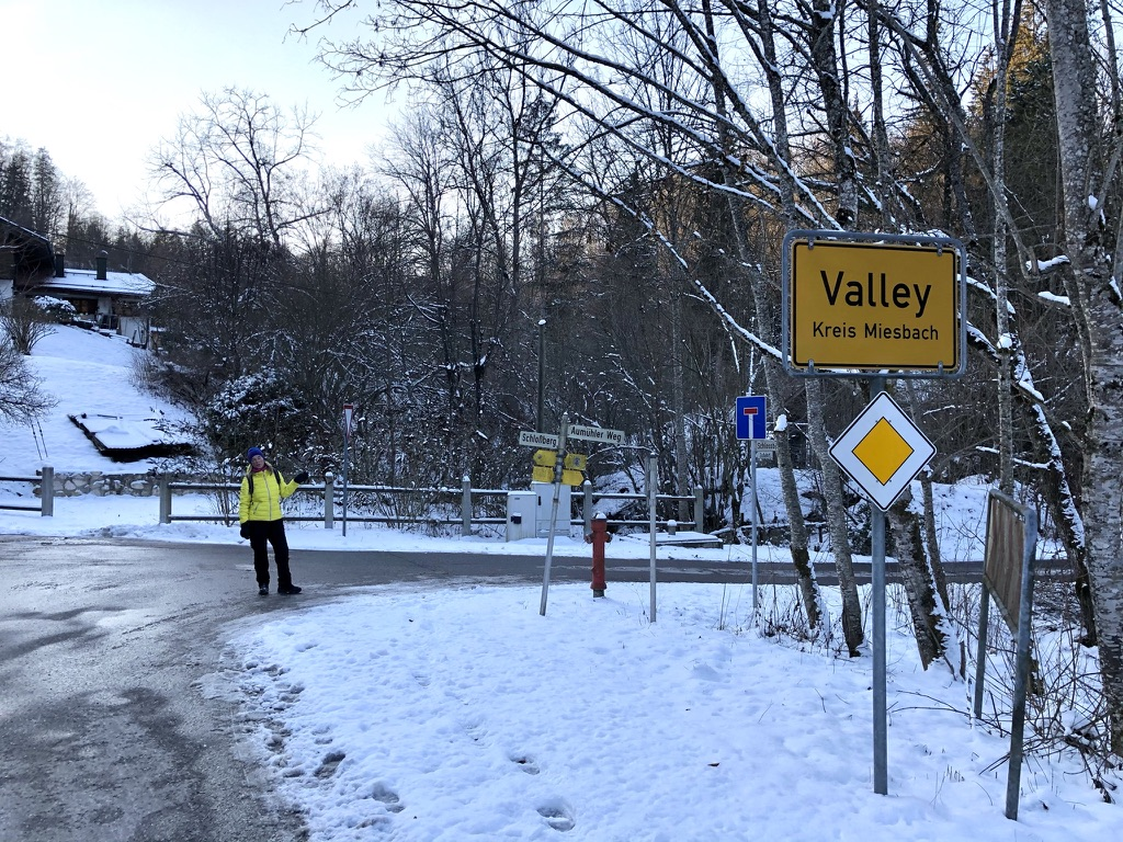 An der Mangfallbrücke bei Valley