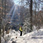 Winterwonderland an der Mangfall