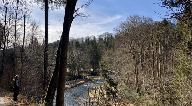 Mangfalltal – spannende Wanderung im Vorfrühling