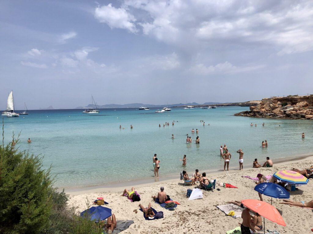 Traumstrand Cala Saona auf Formentera
