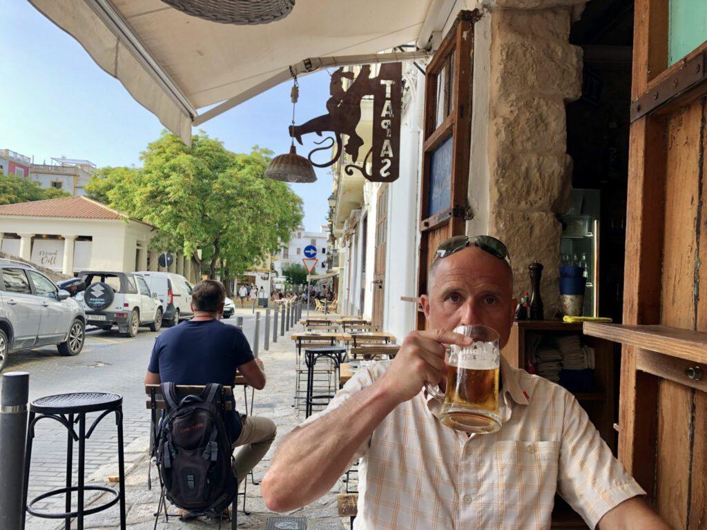 Essen im La Bodega am Rande der Altstadt