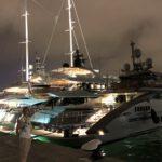 Superyachten im Hafen von Eivissa