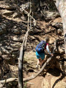 Auf steilen Pfaden rund ums Kap