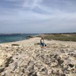 """""""Lands end"""": Nordspitze von Formentera"""