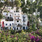 Wunderschöne Häuser in der Altstadt von Eivissa