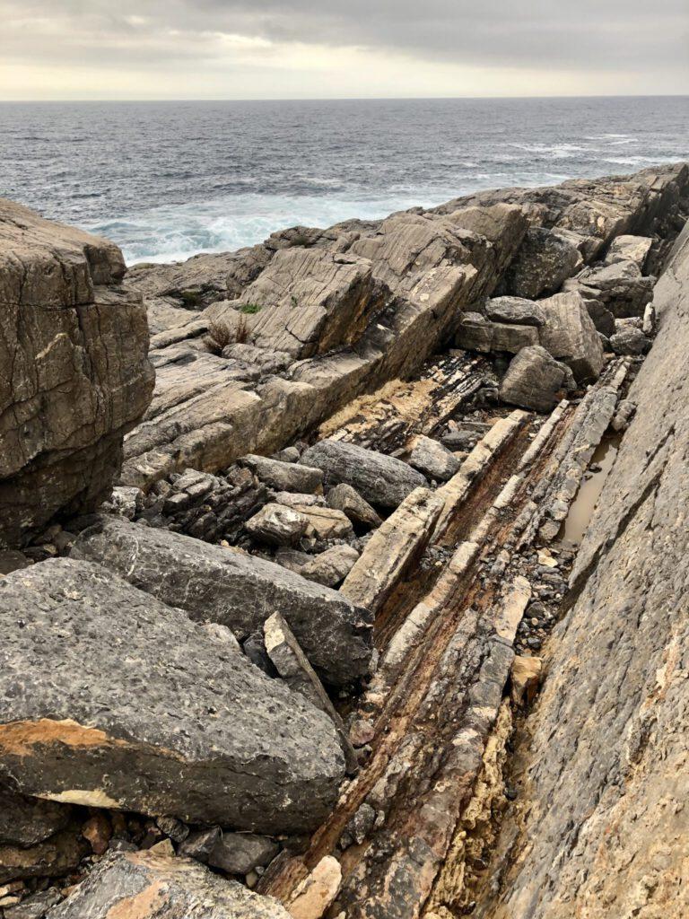Naturgewalten - wilde Felsformationen