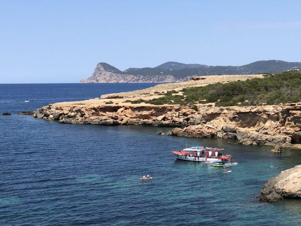 Blick zurück auf Puig Nunó
