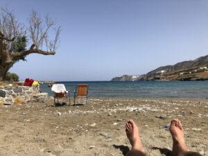 Relaxen am Thólos Beach