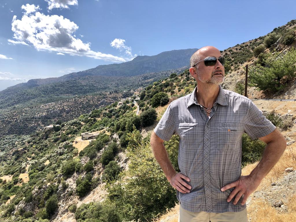 Unterwegs in den südlichen Ausläufern des Díkti-Gebirges