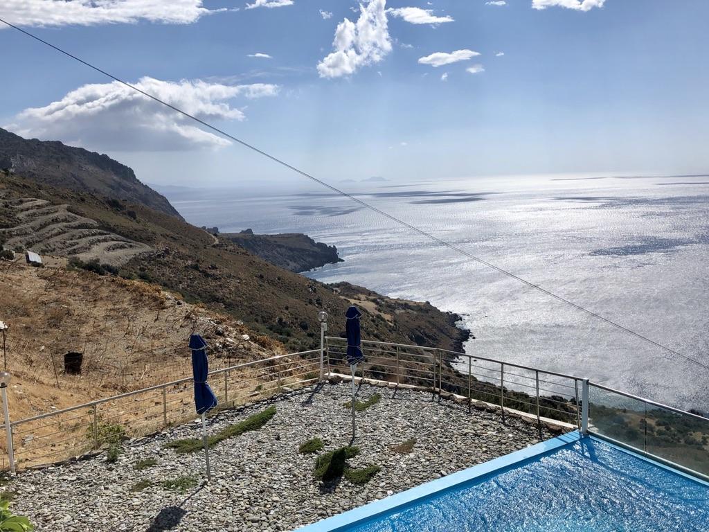 Fernsicht am Akrotiri Panorama