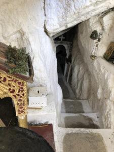 Höhlenkapelle in Kalamáfka