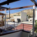 Unsere Terrasse am Hotel Nikos in Matala