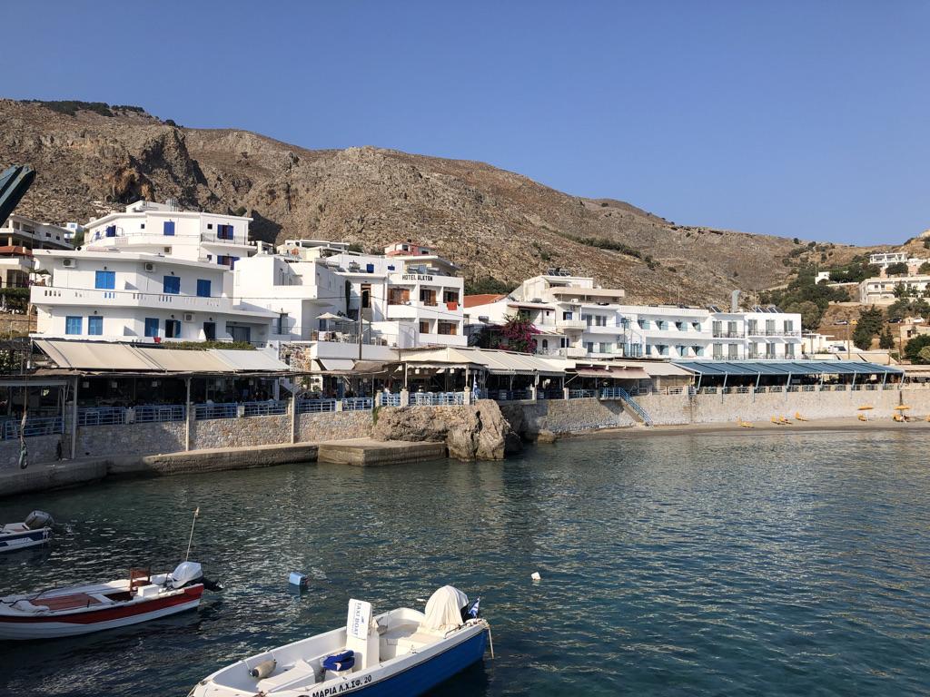Hafenbecken von Chóra Sfakíon