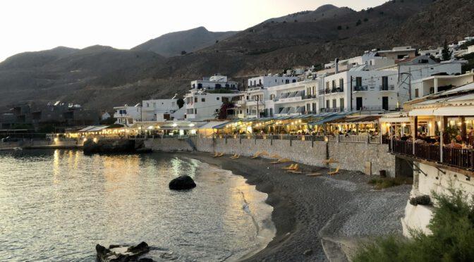 Kreta: Stippvisite in Chóra Sfakíon