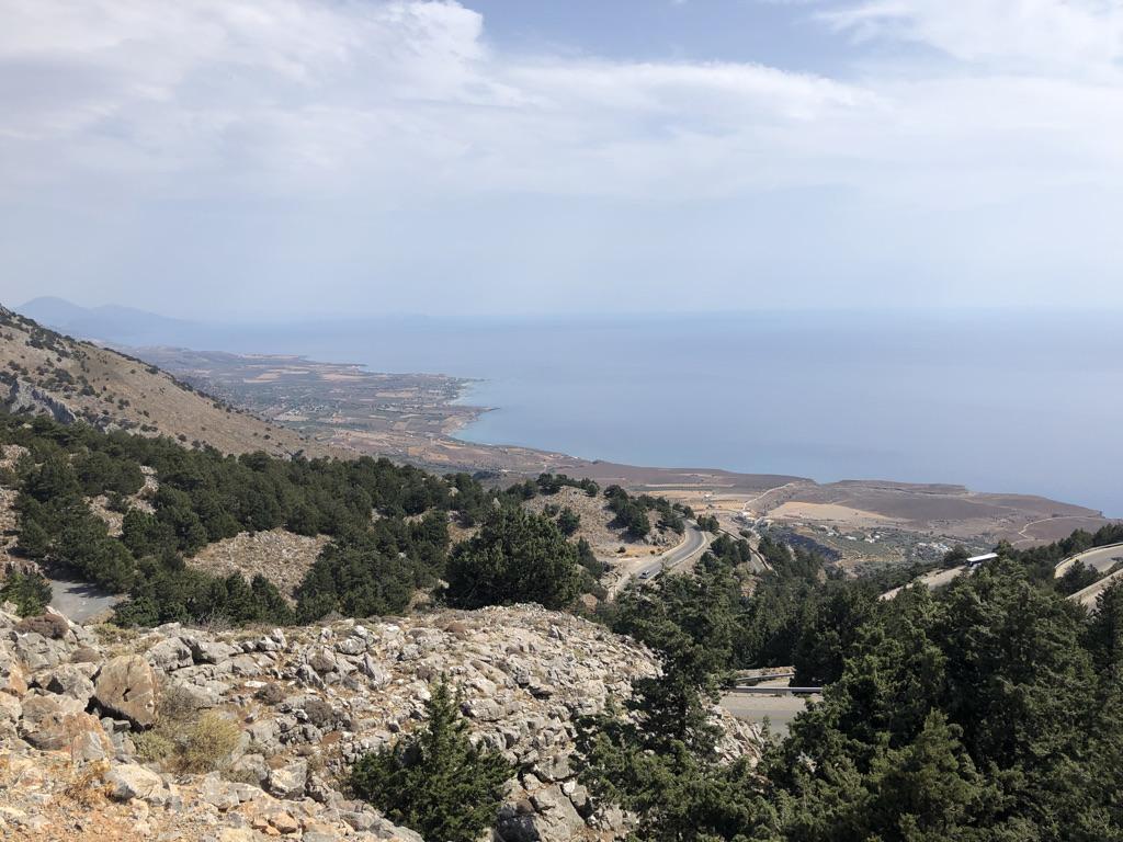 Abfahrt nach Chóra Sfakíon